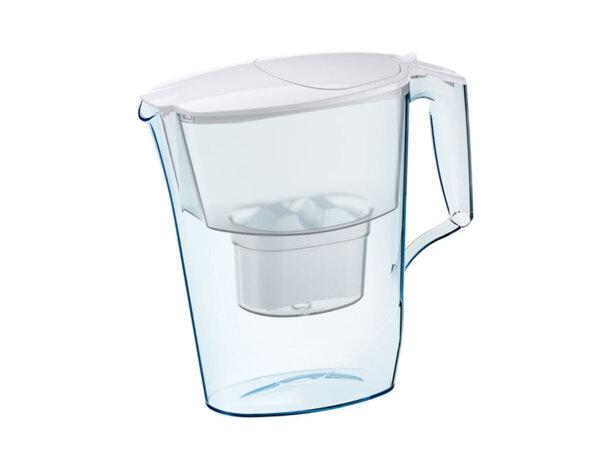 Филтрираща кана за вода Time - 2.5 l, бяла, B25+ Maxfor