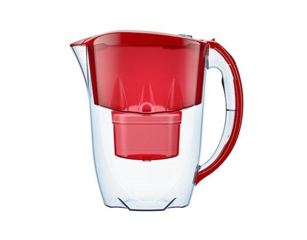 Филтрираща кана за вода Jasper - 2.8 l, червена, B25+ Maxfor
