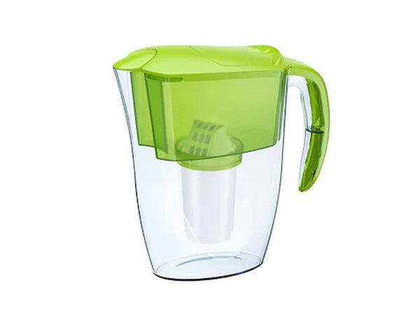 """Филтрираща кана за вода """"Смайл"""" - 2.4 l, зелена, ДМ А5"""
