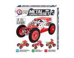 Метален конструктор, 125 части - 20 х 19 х 4 cm