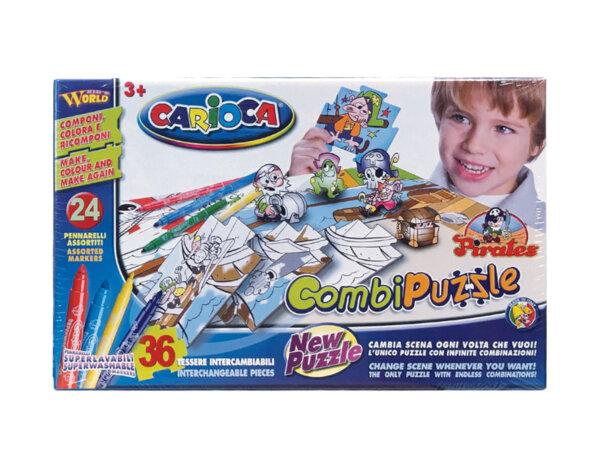 Пъзел Combi Pirates - за оцветяване