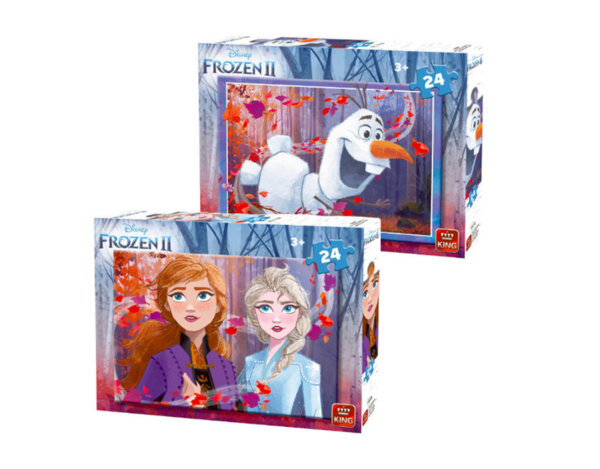 Пъзел Frozen - 24 елемента, 2 дизайна