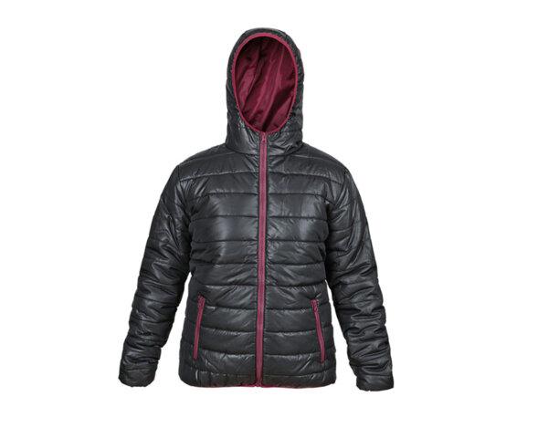 Дамско зимно яке Flash Jacket - черно/бордо, различни размери