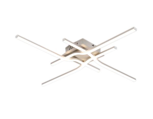 LED плафониера 04-17, хром и мат – 36 W, 4000 K