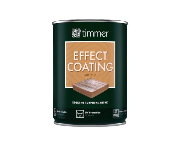 Ефектно покритие за дърво Timmer Antique - 750 ml