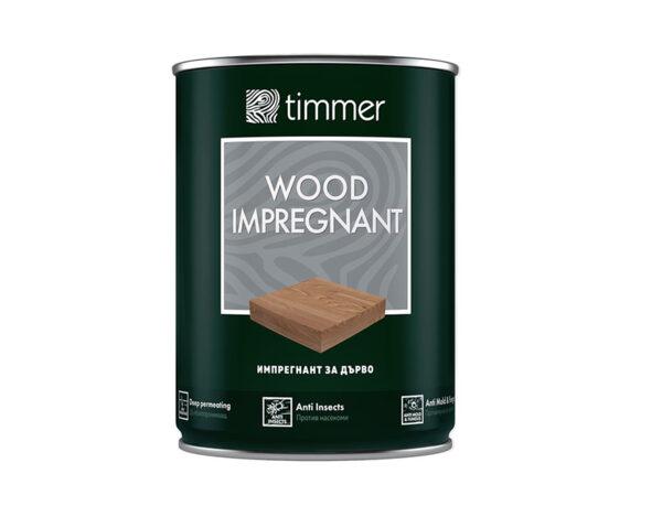 Импрегнант за дърво Timmer - 750 ml