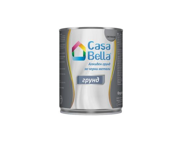 Алкиден грунд за черни метали Casa Bella - светлосив, 0.9 kg