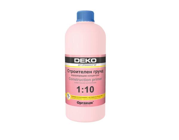 Строителен грунд Deko Professional - 1 l, водоразтворим