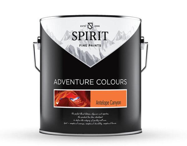 Латекс Spirit Adventure - 2.5 l, различни цветове