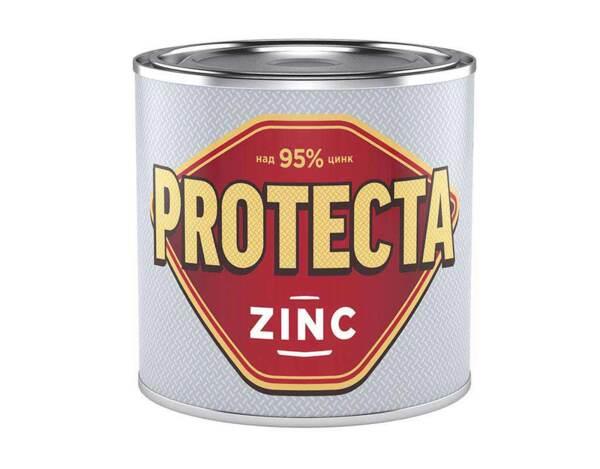Покритие за стоманени повърхности Protecta Zinc - 0.8 kg