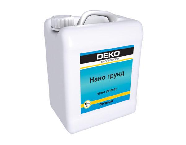 Нано грунд Deko - 5 l
