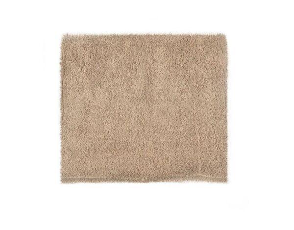 Памучна кърпа, бежова - 25 х 25 cm
