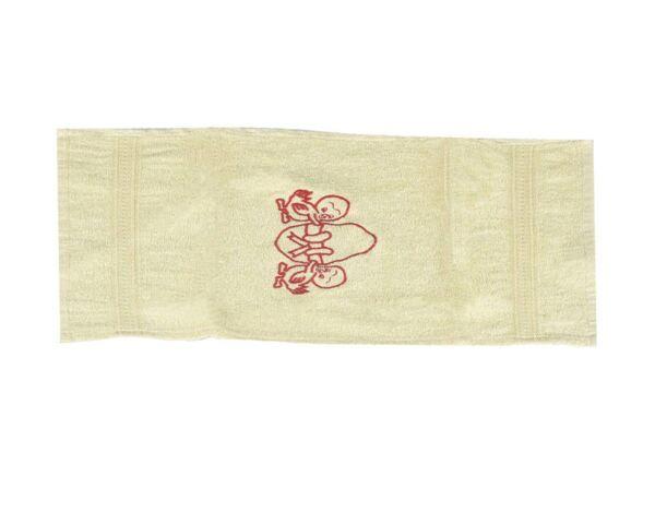 Памучна кърпа с бродерия - 30 х 50 cm