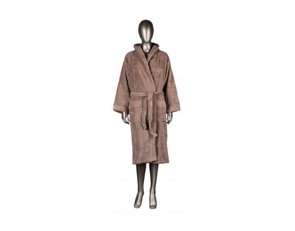 Халат за баня Mika Exclusive, с качулка - капучино, различни размери