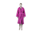 Халат за баня Mika Exclusive, с качулка - лилав, различни размери