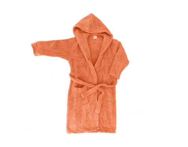 Детски халат с двойна качулка