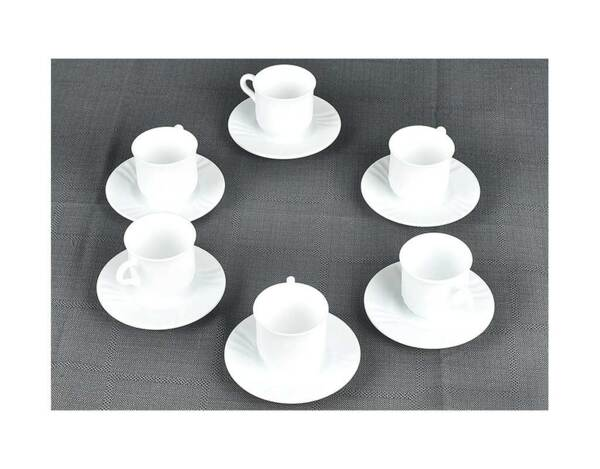 Сервиз за чай Ebro - 12 части, 160 ml