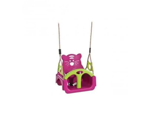 Детска люлка със столче - 39 x 30 x 38.5 cm, различни цветове