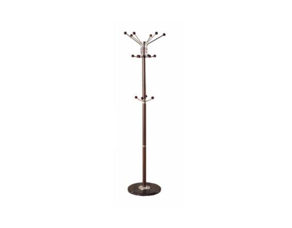 Закачалка за дрехи Y-254/620, стояща - кафява, 170 cm