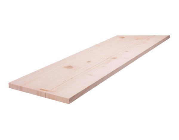 Дървен слепен плот - 100 x 2000 x 40 mm