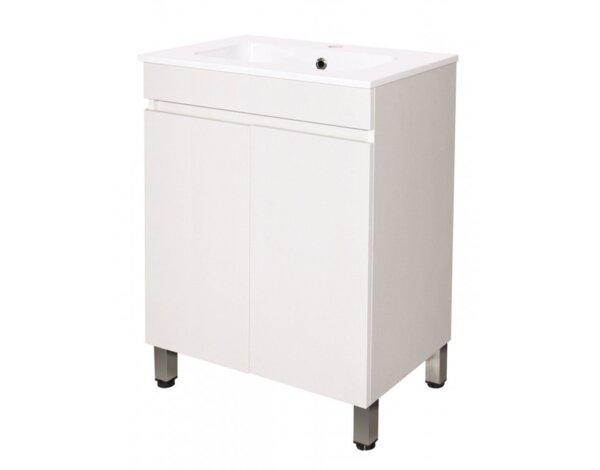 """Шкаф за баня с мивка """"Елис"""" ICP 5981 - 60.4 х 80.5 х 38 cm"""