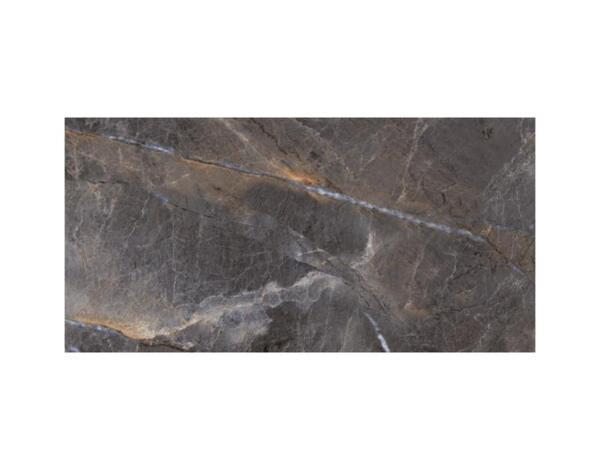Гранитогрес Alanya Antracite, полиран - 60 x 120 cm