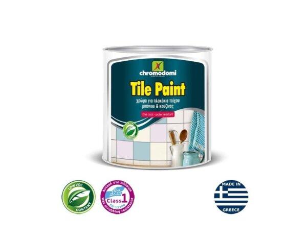 Боя за керамика Tile Paint - бяла, различни разфасовки