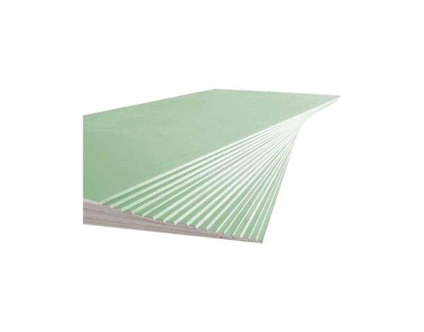 Влагоустойчив гипсокартон - 12.5 mm х 2 m