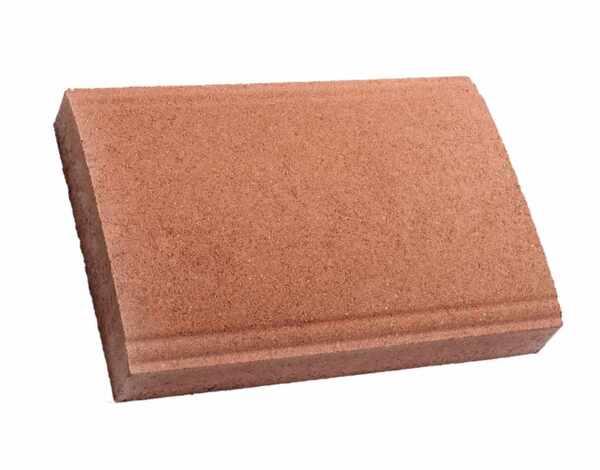 Капак за зид - червен, 40 x 27 x 6 cm