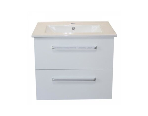 PVC шкаф за баня с умивалник