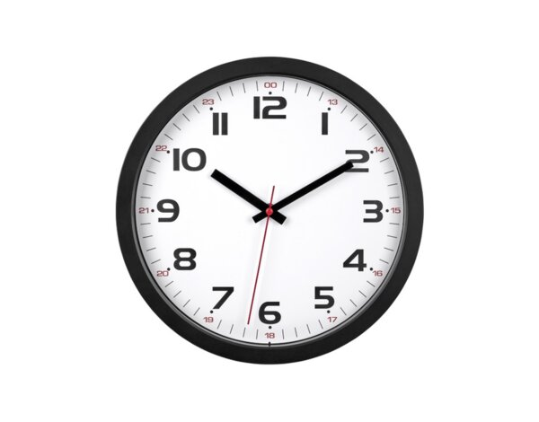 Стенен часовник, безшумен - ø305 х 38 mm