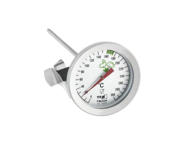 Термометър за пържене, стомана - 0 + 300 °C