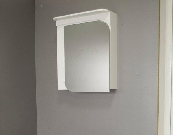 """PVC горен шкаф """"Никол"""" - 60 cm, с огледало"""