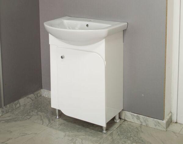 "PVC долен шкаф с умивалник ""Никол"" - 60 cm"