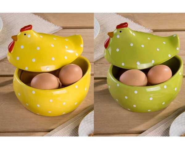 Керамична купа - кокошка