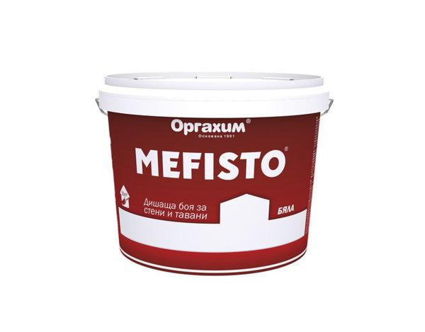 "Интериорна боя ""Mefisto"" - бяла, различни разфасовки"
