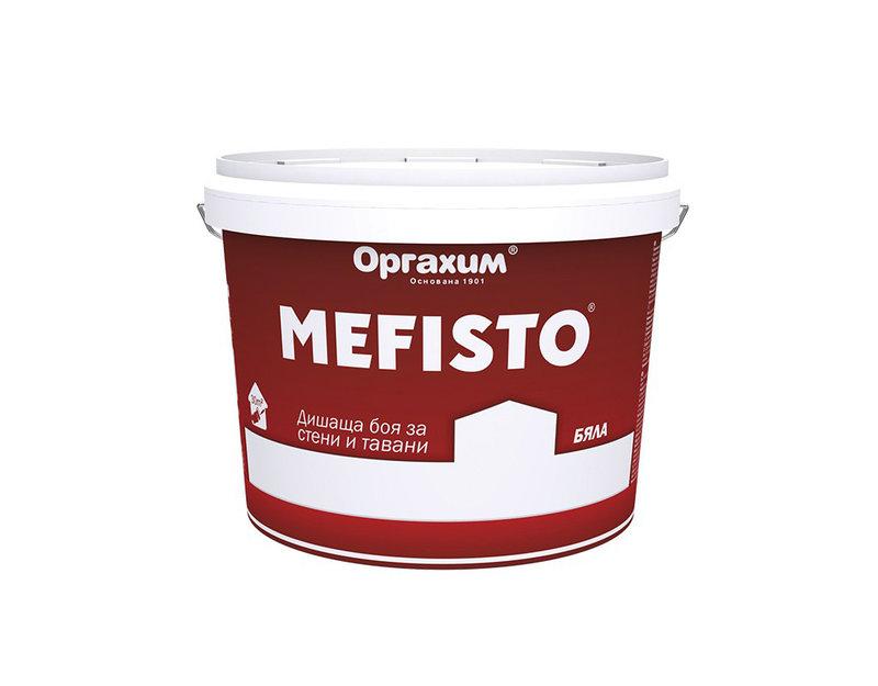 "Интериорна боя ""Мефисто"" - бяла, 14.5 kg"