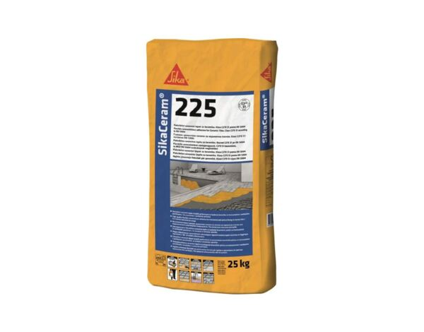 Циментово лепило Sika Ceram 225 - клас C2, 25 kg