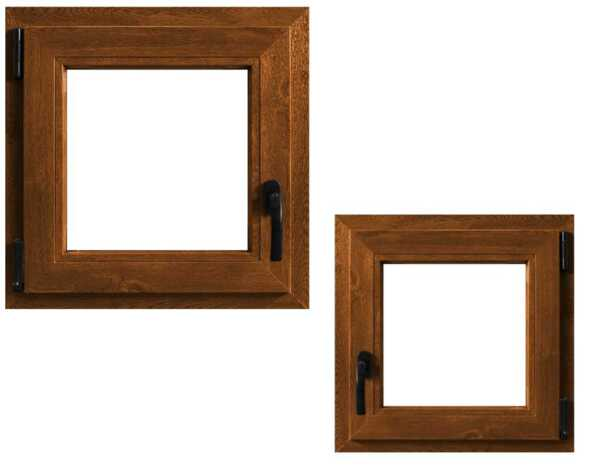 Прозорец за баня - различни видове, 60 х 40 cm