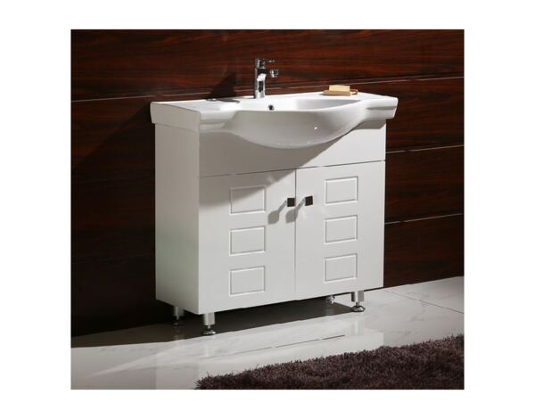 "PVC шкаф ICP 9080, с мивка ""Айвън"" - 90 х 85 х 47 cm"