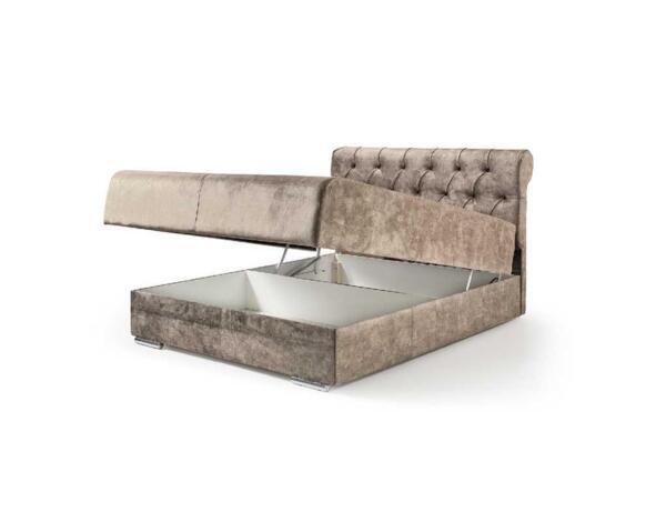 """Тапицирано легло """"Флеш"""" с матрак - 160 х 200 cm"""