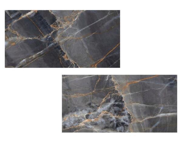 Гранитогрес Zena Black - 60 x 120 cm