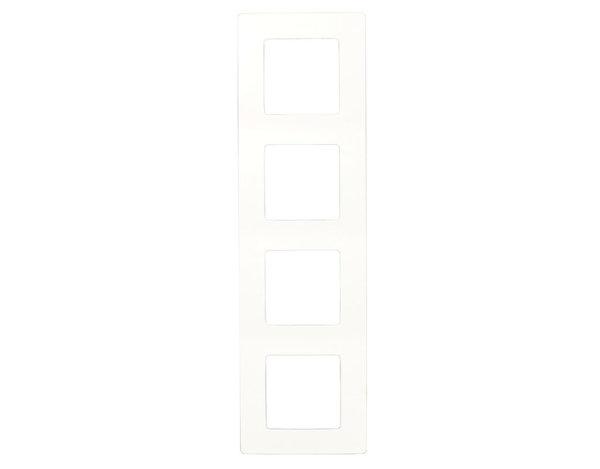 Четворна рамка Niloe - бяла