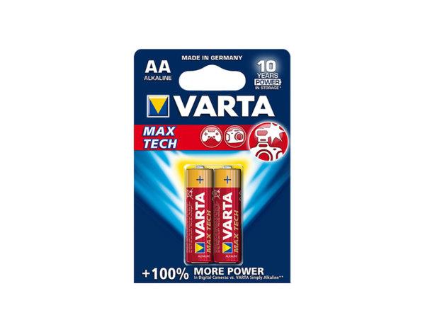 Алкална батерия Max Tech - 1.5 V, 2 бр., различни видове