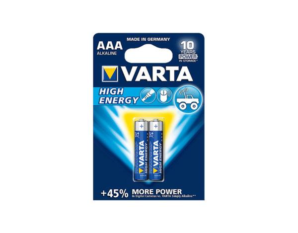 Алкална батерия High Energy - 1.5 V/ААА, различни разфасовки