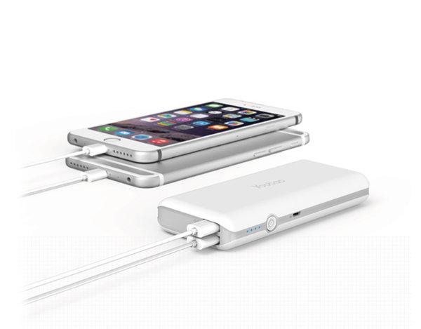 Външна батерия за мобилни устройства - 10 Ah