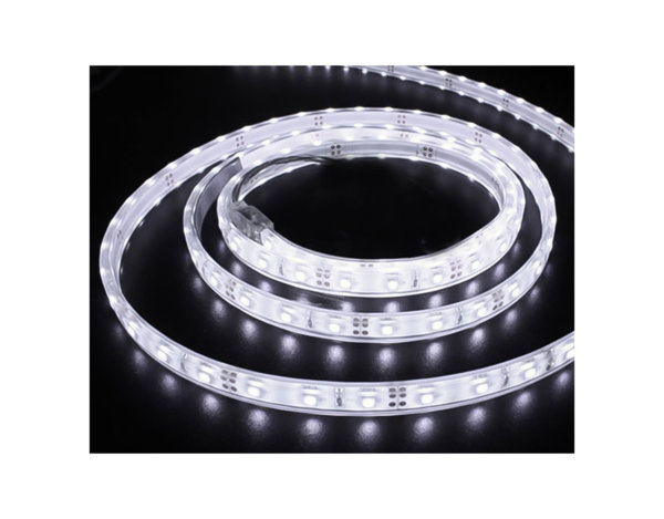 Водоустойчива LED лента - 14.4 W, бяла