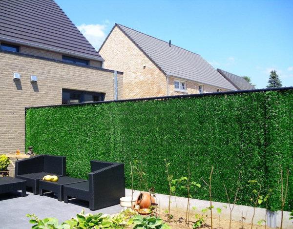 Изкуствено озеленяване за ограда - различни размери