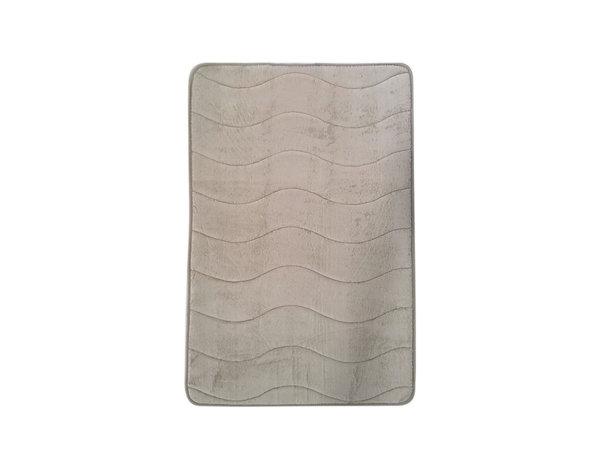 Постелка за баня - 70 х 50 cm, бежова