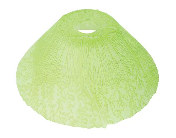 Пенделно стъкло - зелено, ø29 cm